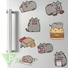 Pusheen The Cat Fridge Magnets Set of 8