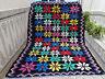 Old handmade Wool Rug,Vintage Moroccan Azilal Berber Rug,Beni Ourain Carpet