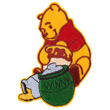 "The Winnie the Pooh Bear Embroidered Iron/Sew ON Patch cloth Applique 4.1""X 3.5"""