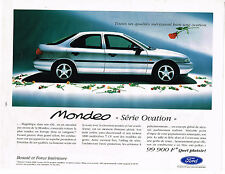 """PUBLICITE ADVERTISING 104 1995  FORD MONDEO   série OVATION"""""""