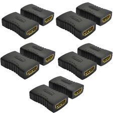 10Pcs HDMI Female to Female Coupler Extender Adapter Connector F/F for HDTV HDCP