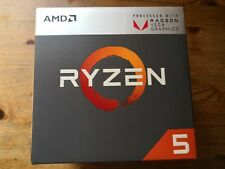 AMD RYZEN 5 2400G VEGA GRAPHICS AM4 CPU W WRAITH STEALTH COOLER