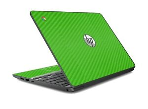 LidStyles Carbon Fiber Laptop Skin Protector Decal HP Chromebook 11 G4