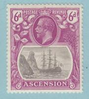 ASCENSION ISLAND 17  MINT HINGED OG * NO FAULTS  VERY FINE!