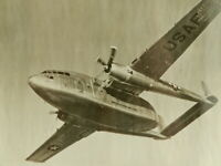 """Vintage Official Photo of USAF C-119 Airplane Plane 7.5""""x9.5"""" Military Air Force"""