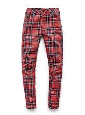 Brand New G-Star Elwood X25 Royal Tartan Print Boyfriend Women's Jeans W26 L30