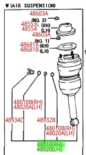 Lexus LS430 (2003) OEM Genuine RH LH Side FRONT PNEUMATIC AIR SUSPENSION SHOCK