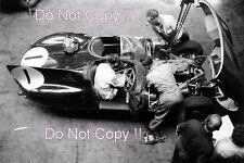 Mike Hawthorn & Ivor Bueb Jaguar D-Type Le Mans 1956 Photograph