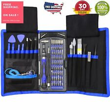 80 in 1 Pro Repair Toolkit Electronics Smartphone Tablet Computer Precision Kit