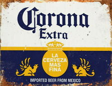 CORONA Extra Metal Pub Shed Bar Kitchen Home Man cave Retro Lager Beer WALL SIGN