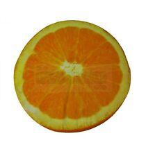 Orange coussin FRUIT rond 40 cm