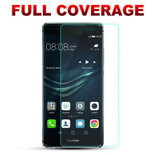 2x 3D Edge Full Coverage Curved Tempered Glass Screen Protector For Huawei P9