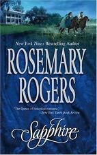 Sapphire by Rosemary Rogers (2005, Paperback)