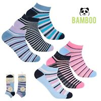 Womens Dots Stripes Patterned Trainer Socks Ladies Storts Yoga Ankle Liner 4-7