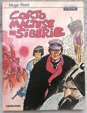 Corto Maltese En Sibérie EO 1979 TTBE Hugo Pratt