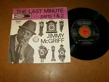 JIMMY MCGRIFF - THE LAST MINUTE  - 45 PS HOLLAND / LISTEN - RNB ORGAN POPCORN