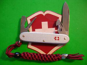 "NTSA SWISS ARMY VICTORINOX POCKET KNIFE 93mm ""SILVER ALOX PIONEER"" (2005-2009)"