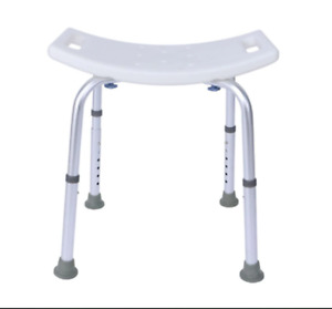 Aid Seat Without Back Chair Height Adjustable Non Slip Toilet Seat Disabled Home