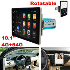 10.1in Android 9.0 1Din 4G RAM Car Stereo Radio GPS Wifi OBD2 Mirror Link Player