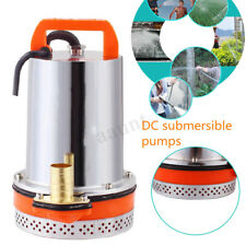 12V Electric Submersible Water Pump Battery Clean Clear Pond Pool Drain