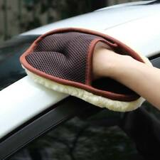 Hot Cleaning Brushes Polishing Mitt Brush Wool Glove Soft Washer Auto Car Wash