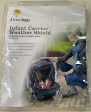 J is for Jeep Infant Carrier Weather Shield