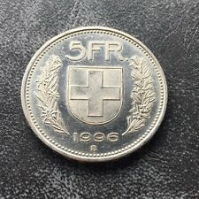 SWITZERLAND 5 FRANC COIN SWISS 1996 B (11)
