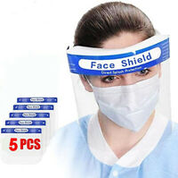 Face shield 5 pcs – Clear Regular Re-usable