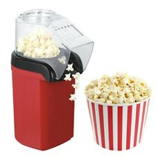 Red Electric Hot Air Pop Popcorn Machine Home Tabletop Party Snack 1200W