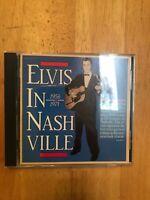 Elvis In Nashville (1956-1971) CD 1988 Edition Out Of Print Presley