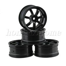 4pcs Plastic Wheel Rim 26mm Width with 7-Spoke for RC 1:10 On-road Racing Car