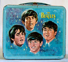RARE Beatles original metal Lunch Box 1965 vintage Aladdin Industries No Reserve