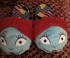 NIGHTMARE BEFORE CHRISTMAS ADULT SLIPPERS SIZE LARGE FAST FREE SHIPPING