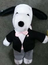 Applause Peanuts character Groom SNOOPY says I DO love you! 1958 Tag isattached