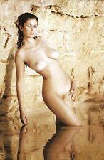 R 91 # postal 2014 Pin-Up Girl full nude nu acto desnudo nudo pechos Busty desnudo