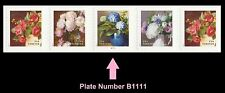 US 5233-5236 5236a Flowers From the Garden forever PNC5 B1111 MNH 2017