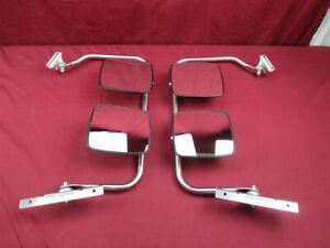 NOS OEM Dodge Ram 1500, 2500, 3500 Van Manual Dual Head Mirror 1998 - 2003 PAIR