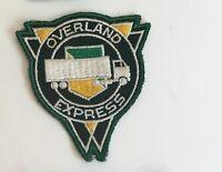 Overland Express driver patch 3-1/4 X 2-7/8 #4157