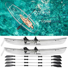 TWO Crystal Kayaks! Transparent Clear Bottom Canoe / Kayak - Watch the Video!