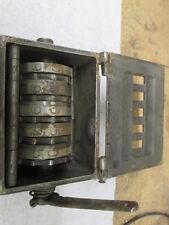 Campbell Printing Press MFG CO Counter Steampunk # Gear Box Machine Wheel