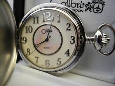 Colibri Silvertone Pocket Watch New Clearance
