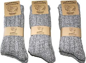 """6 Paar Herren Norweger Socken Ski 70% Schafwolle """"portofrei """" wie handgestrickt"""