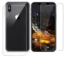 Front And Back Tempered Glass 360 Screen Protector For Apple iPhone XS MAX New