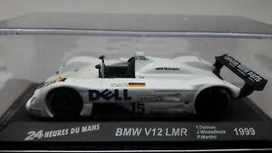 "VOITURE MINIATURE 1/43è   BMW  V12  LMR  ""DELL""   N° 15   24 Heures du Mans 1999"