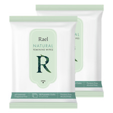 Rael Feminine Wet Wipes with Natural Ingredients (2Pack)