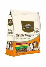 342028 Country Value Guinea Pig Nuggets 1.5kg 0163
