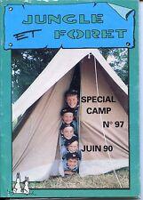Revue Jungle et Forêt n°97 Juin 1990 - Louveteaux - Scouts Unitaires de France