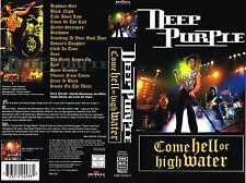 (VHS) Deep Purple - Come Hell Or High Water - Smoke On The Water, Highway Star