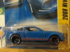 Hot Wheels '07 Shelby GT-500 2008 New Models Blue