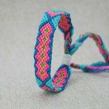 Women Colorful Woven Adjustable Braided Friendship Bracelet Summer Holiday HOT